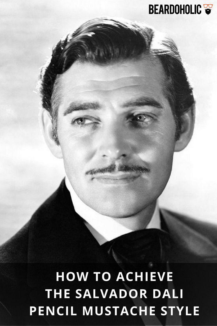How to Achieve the Salvador Dali Pencil Mustache Style From Beardoholic.com