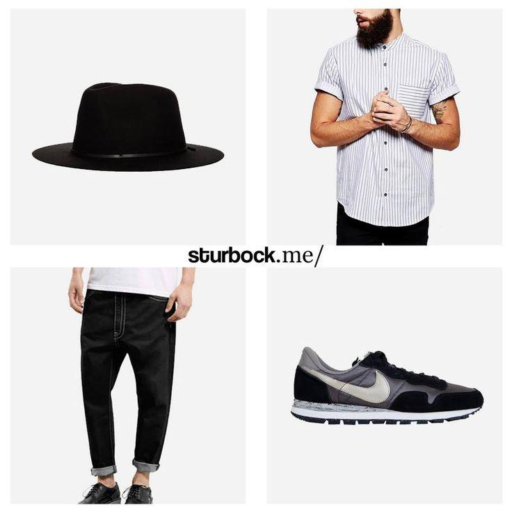 Wir lieben diese Auswahl: Hut, Vintage Hemd, Karottenjeans und Nike Pegasus. Hier entdecken und shoppen: http://sturbock.me/gnU