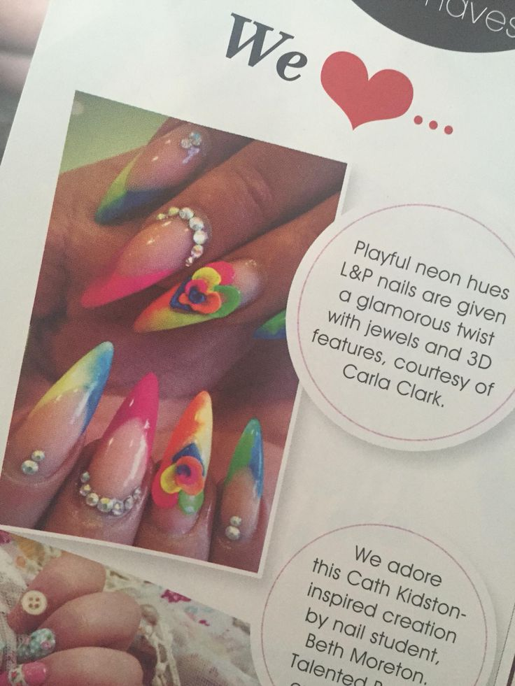 8 best My work in Nail Mags images on Pinterest | Manicures, My ...