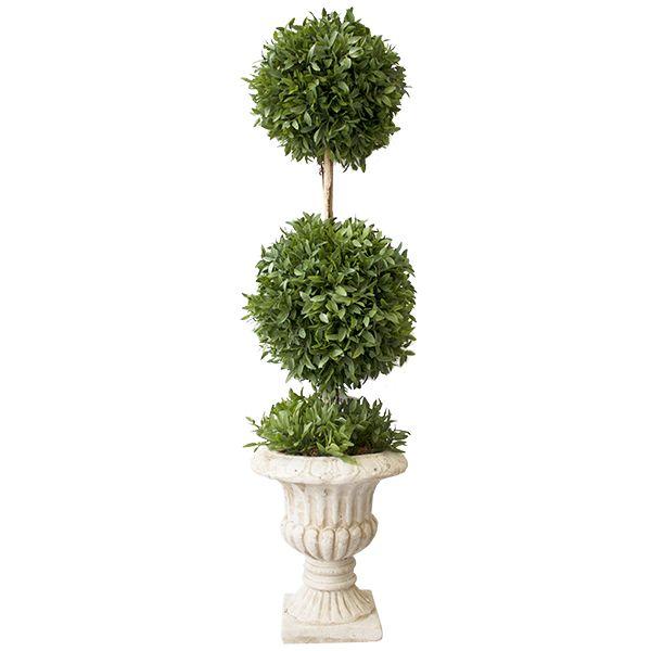 Mini urne 2 boules de myrte dans une urne 26''