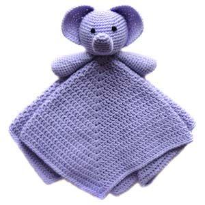 Crochet Spot » Blog Archive » Crochet Pattern: Elephant Security Blanket - Crochet Patterns, Tutorials and News