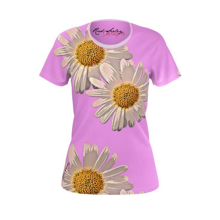 Flower Fantasy Purple - Women's Tee