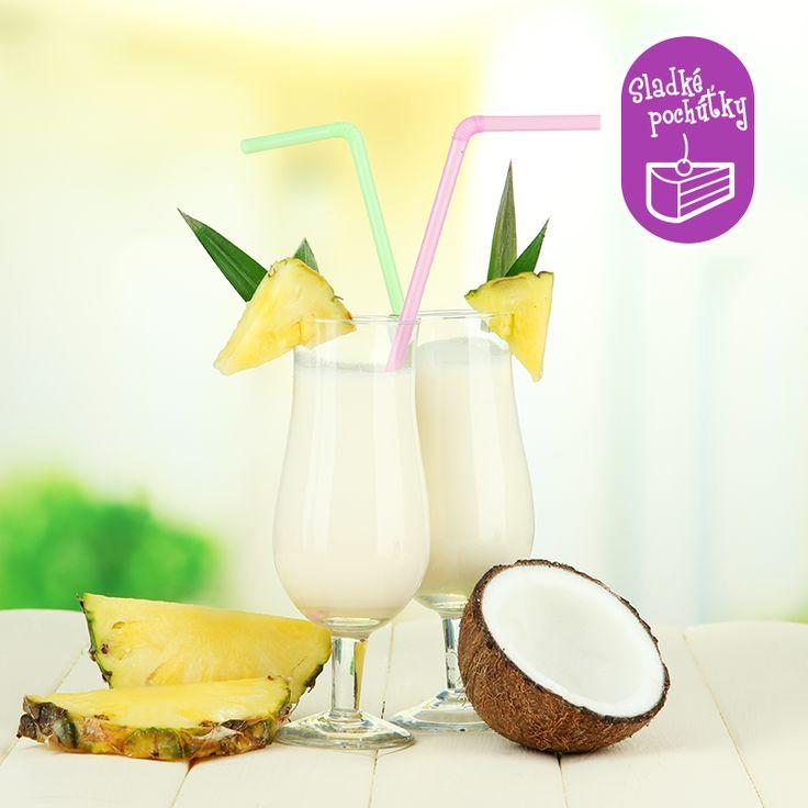 Zmiešate štyri správne ingrediencie a osviežujúca Virgin Piňa Colada je hotová. Barmanský rýchlokurz si spravíte tu: bit.ly/virgin-pina-colada
