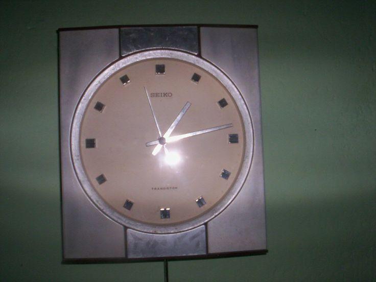Reloj De Pared Antiguo Marca Seiko - $ 100.000 en MercadoLibre