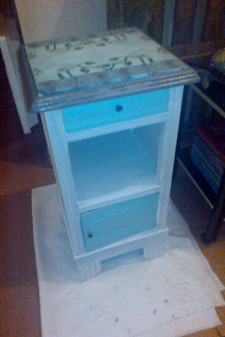 rénovation petit meuble