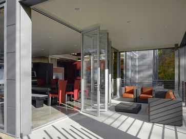 Patio Bi Fold Doors With Glass Design, Pictures, Remodel, Decor and Ideas