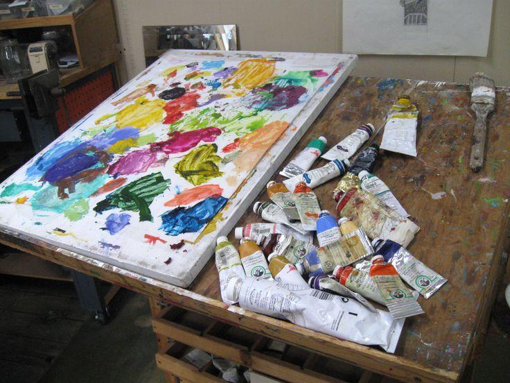 My studio.