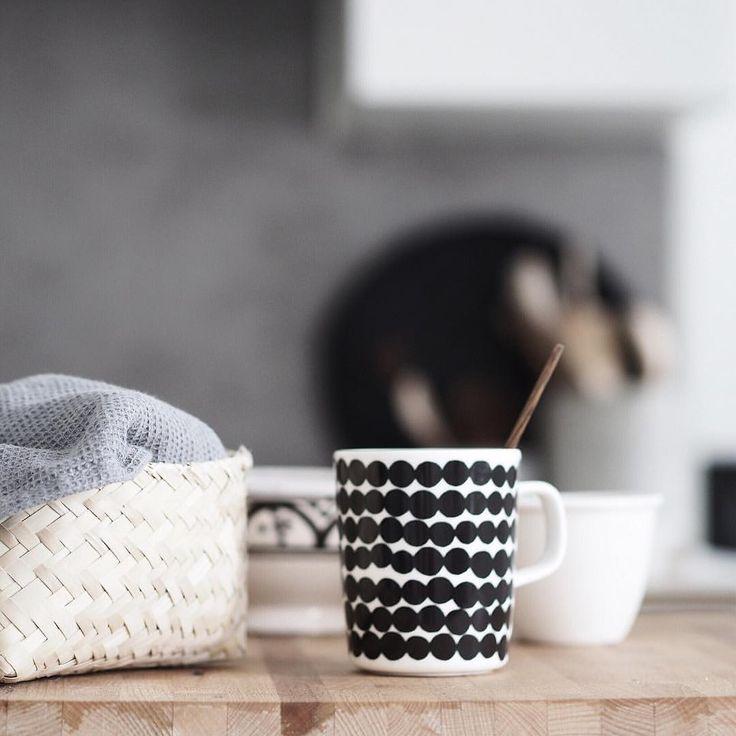 Via Instagram| @erikaappelstrom My third morning coffee. Love sundays and looong awakening.  #coffee #easylikesundaymorning #coffee #onmytable #marimekko #myhome #grey #monochrome #mystillsundaycompetition