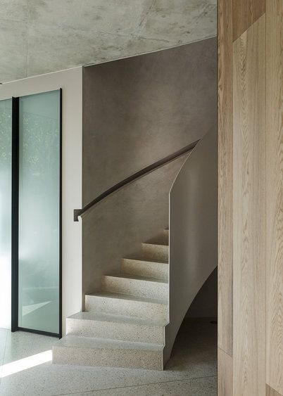 White Smoked by Royal Oak Floors, used here as wall cladding (Architecture and Interiors by Leeton Pointon Architects + Interiors and Allison Pye Interiors)