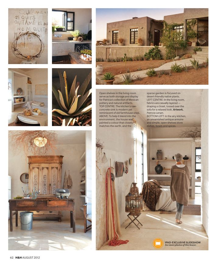 Candian House and Home, article about Patricia Larsen's home, page 5