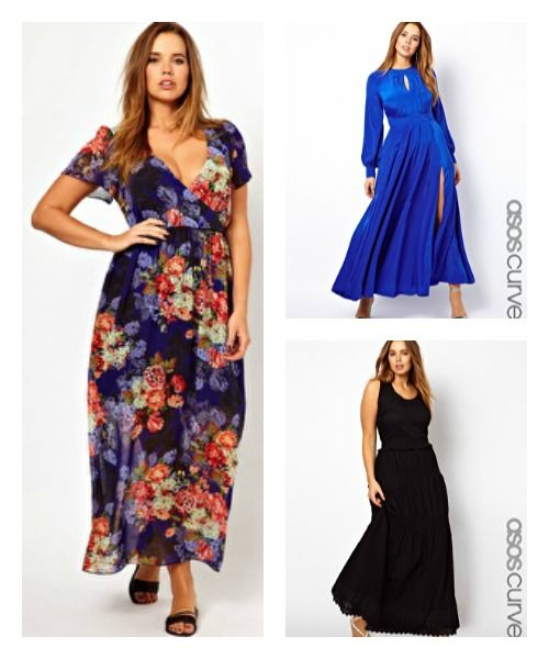 robe maxi dress asos curve robe longue grande taille t 2013 4 sites pour trouver des. Black Bedroom Furniture Sets. Home Design Ideas