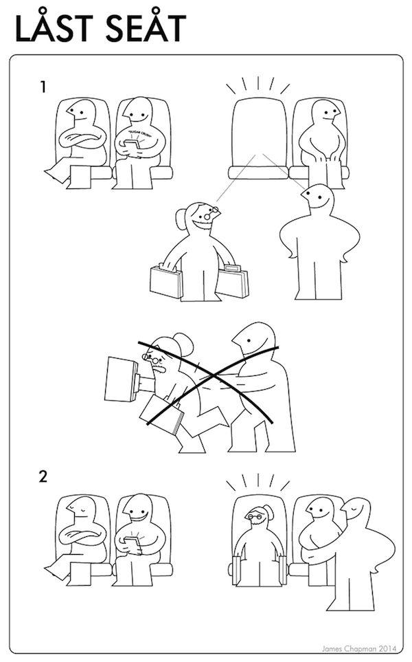 Des modes d'emploi Ikea amusants pour apprendre à gérer des situations du quotidien