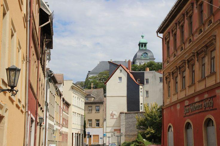 Altstadtblick mit Fokus auf Neu-Augustusburg