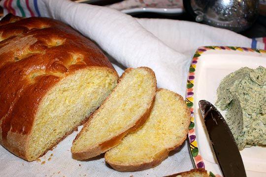 Мятно-апельсиновый хлеб