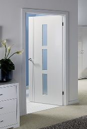 Sierra Blanco Glazed Internal Door #whitedoors