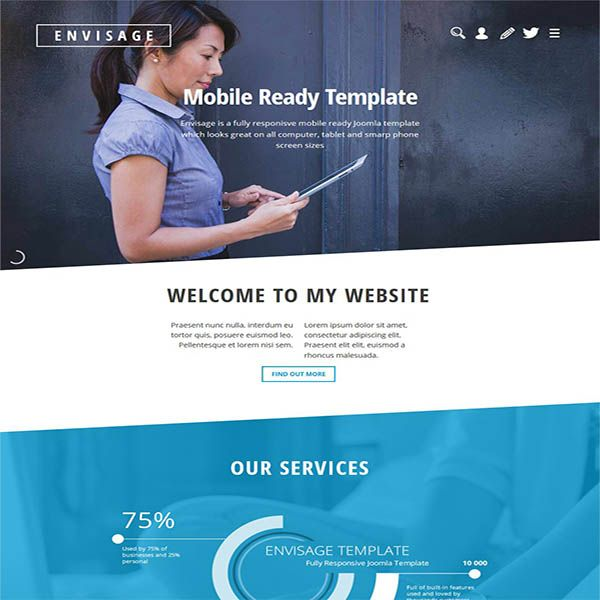 #Joomla #templates gallery where you can view over 100 great #web #designs to help you create an anazing website.