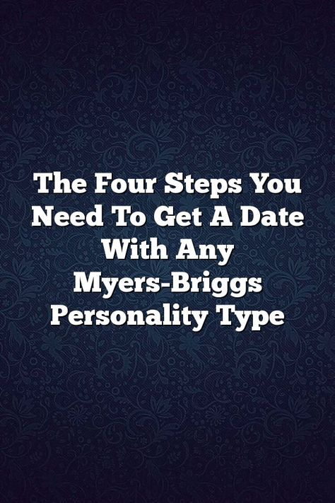 dating someone with the same myers briggs