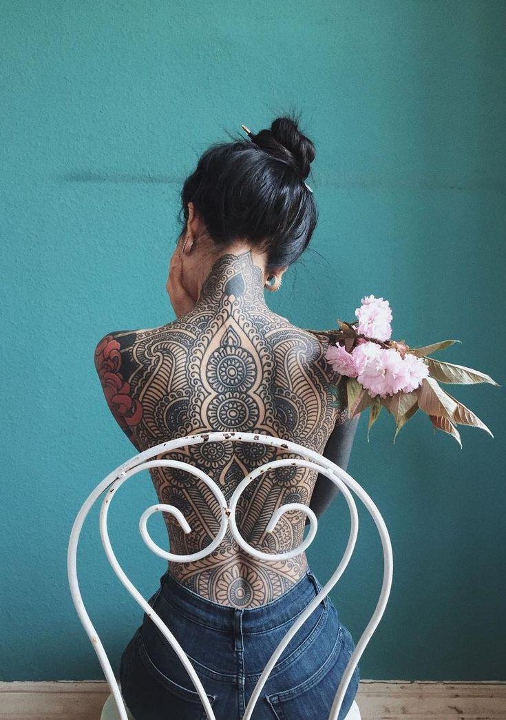 best mandala tattoos © tattoo artist Guy Le © tattoo model A N H W I S L E …