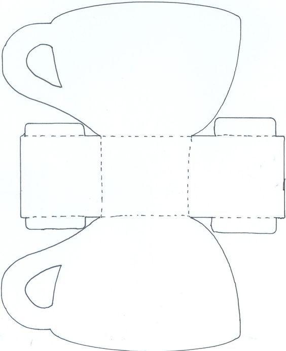 koffie-/thee kop kaart: