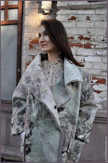 "Outerwear handmade.  Fair Masters - handmade Park ""Spring in Zarechnaya.""  Handmade."