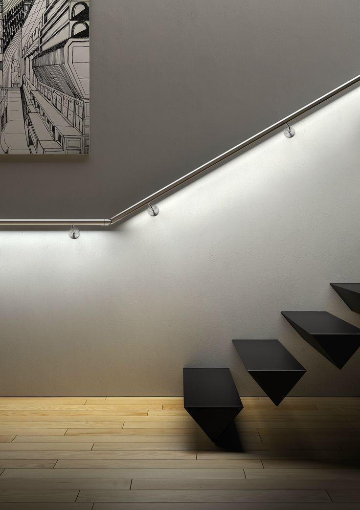 Die besten 25+ Stair and step lights Ideen auf Pinterest Moderne - beispiel mehrstufige holzterrasse