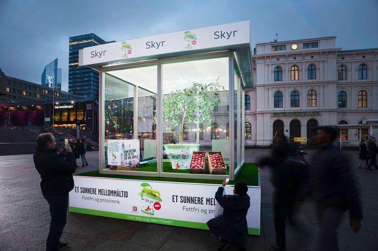 Skyr Art Box Innovate 10 2014 JCDecaux