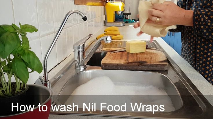 How to wash Nil Organic Food Wraps