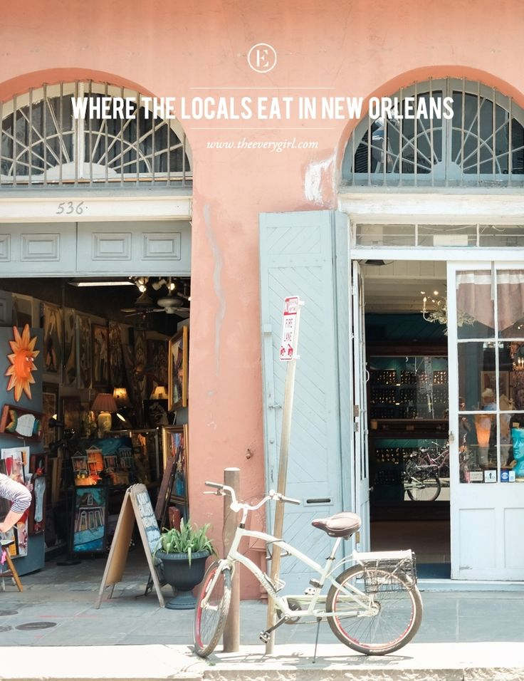 Where The Locals Eat in New Orleans #theeverygirl
