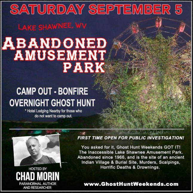 Haunted Abandoned Lake Shawnee Amusement