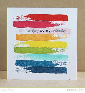 DIY art idea.  Every Minute by RobynRW at @Studio_Calico
