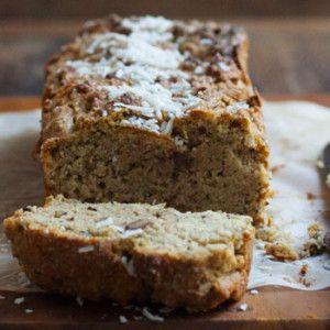 I Quit Sugar - Zucchini Coconut Lunchbox Bread