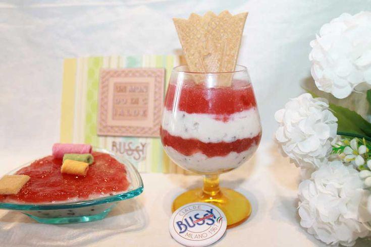 ricetta dessert al cucchiaio bicolore