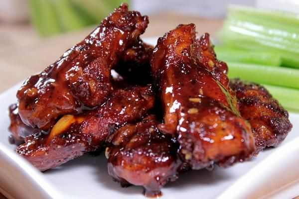 Go to website version: Honey Barbecue Smoked Chicken Wings
