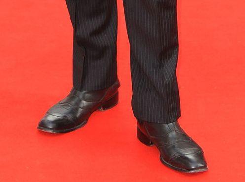 Richard Armitage in Belstaff boots at BAFTA 2010 Belstaff Classic Black Brown Townmaster Boots at BAFTA 2010
