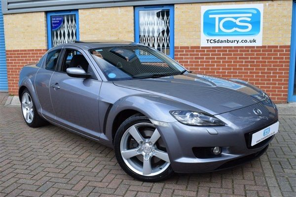 Used 2003 Petrol Mazda RX-8 in Silver-Grey 19,000 miles for sale in Maldon for £4,995   AutoVillage