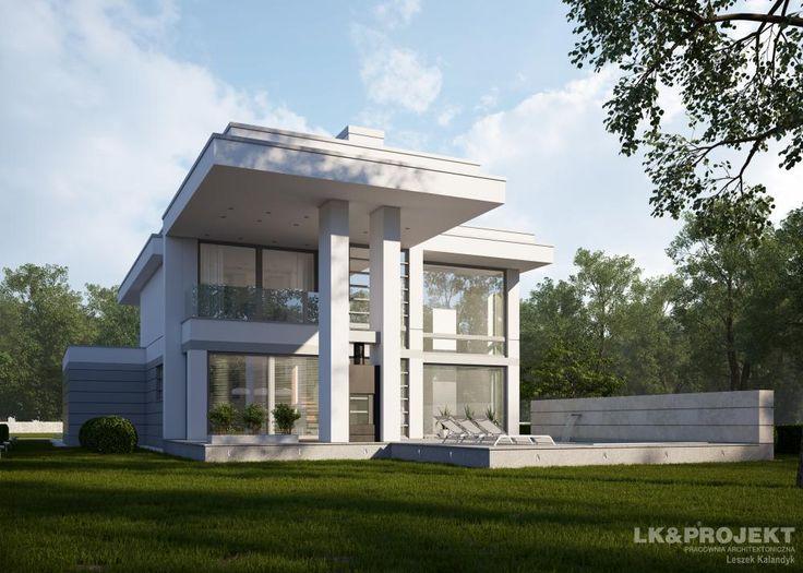 Projekty domów LK&Projekt LK&1269 wizualizacja 1