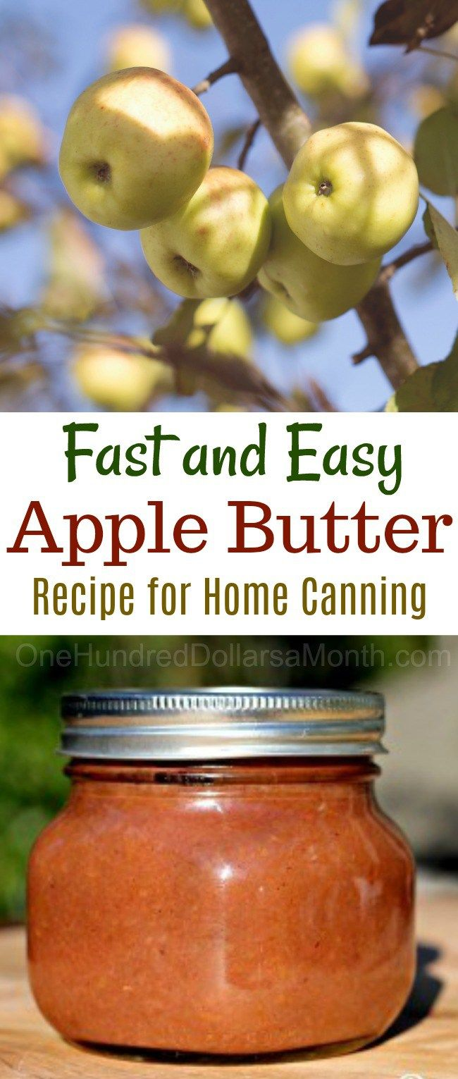 If you can make applesauce, you can make apple butter. The process is exactly the same with the exception of one step. After you turn your apples into applesauce, instead of canning it right away, you place the applesauce in a crock pot to cook down into a thick, rich buttery spread. Apple butter is …