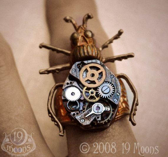Steampunk Beetle