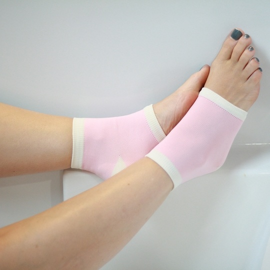 Infused with jojoba oil and vitamin E, these socks help moisturize and sooth the most tired feet.
