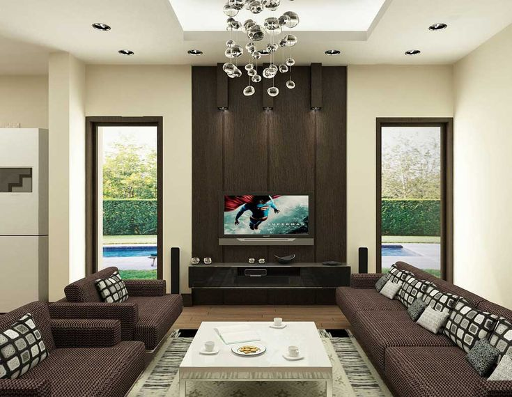 Interior Living Room Furniture Modern Brown Living Room Designs With Wide  Screen Tv Unit Beautiful Decorations Of Interior Design With Lcd Tv Screen  Chinese ... Part 94