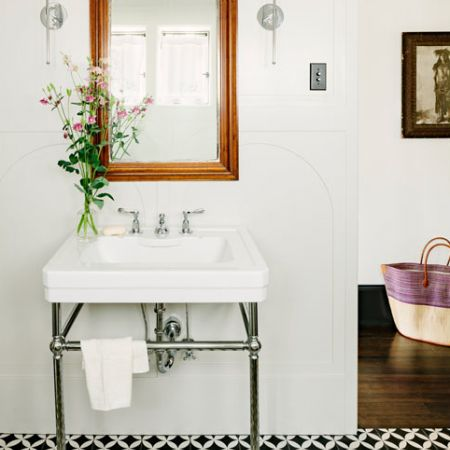 creative ideas for beautiful bathroom floors