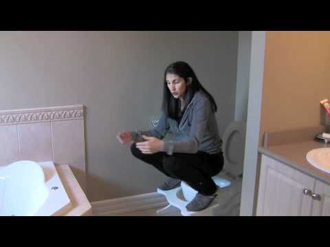 Constipation Positions 2 and Rectal Prolapse Remedy; squatting platform info