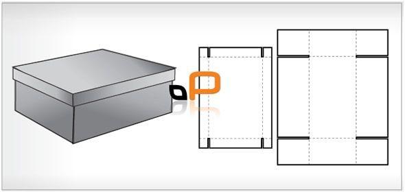 Image Result For How To Make A Cardboard Shoebox Blueprint Box Design Templates Box Packaging Design Packing Design