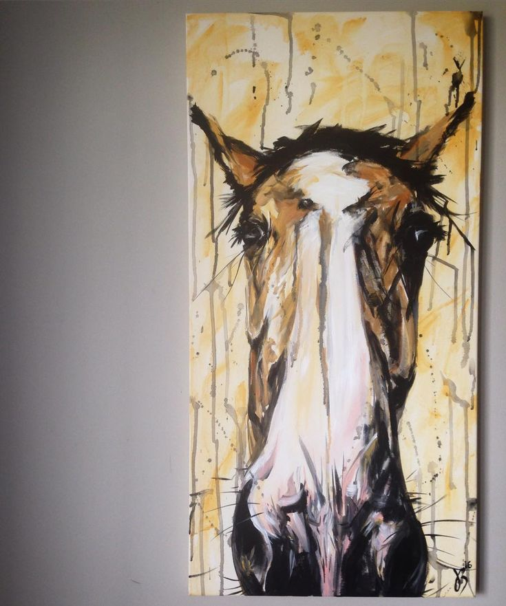 original equine art www.kasiabukowska.com horse-lover and horse-addicted painting uniquely emotional paintings of our wild, 4-legged friends. #equine