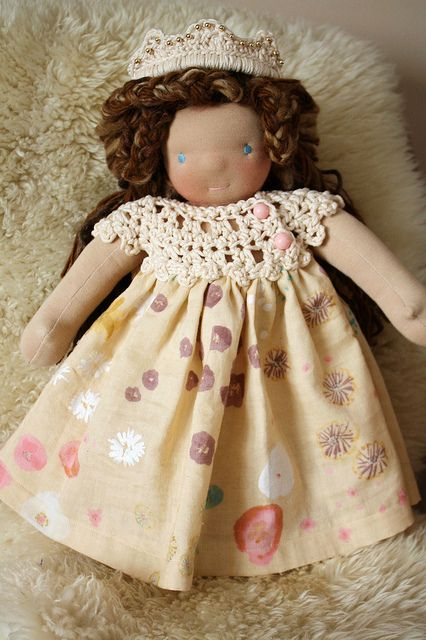 Versailles in her long gown by Fig & Me, via Flickr