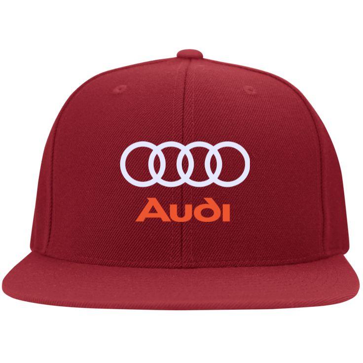 Audi Flat Bill Twill Flexfit Cap