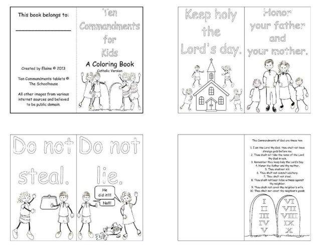 27 Marvelous Picture Of 10 Commandments Coloring Pages Entitlementtrap Com Catholic Coloring Bible Activities For Kids Bible For Kids