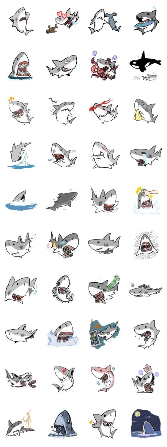 little sharky doodles