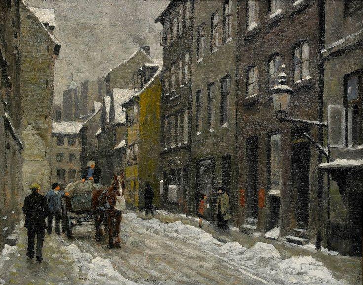 Paul Gustav Fischer [1860-1934] was an Danish painter.