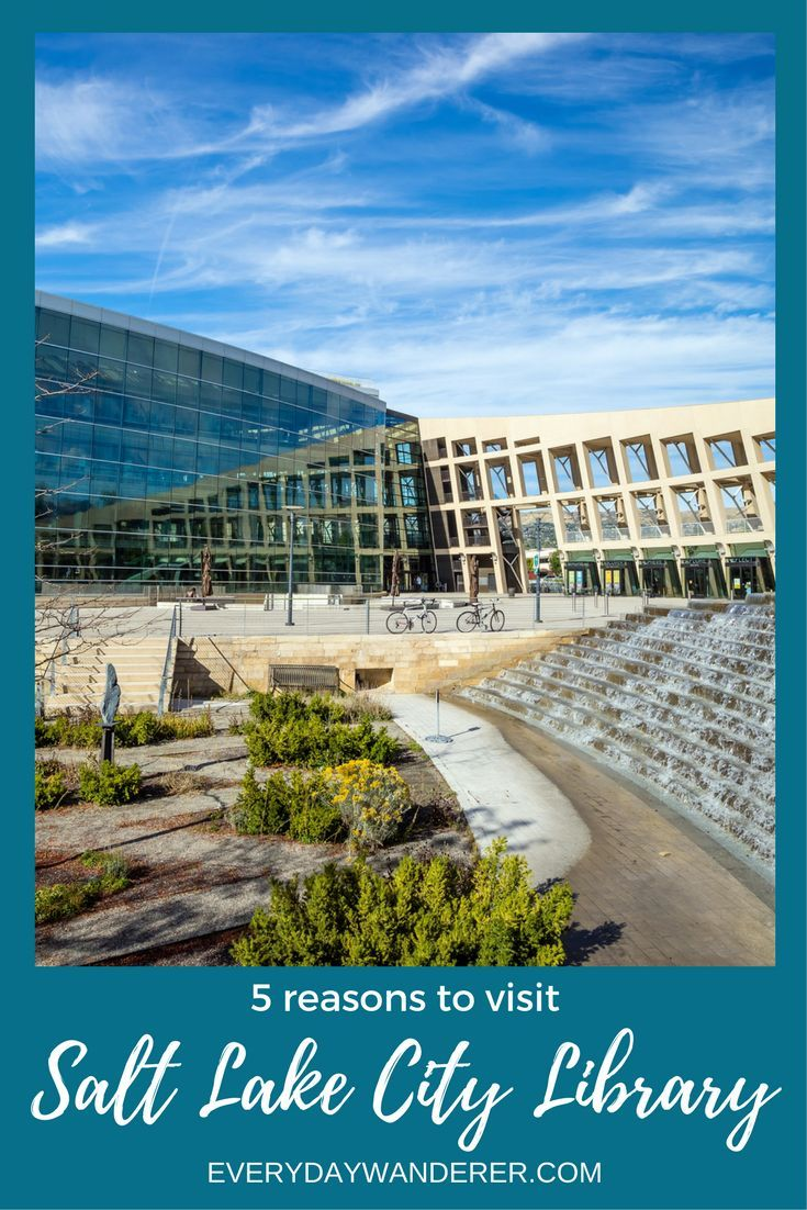 5 reasons you need to visit the Salt Lake City Public Library in Salt Lake City, Utah #saltlakecity #slc #utah #library #travel #architecture